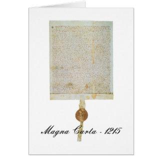 Magna Carta Libertatum - 1215 Card