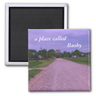 Magnet:  a place called Busby Square Magnet