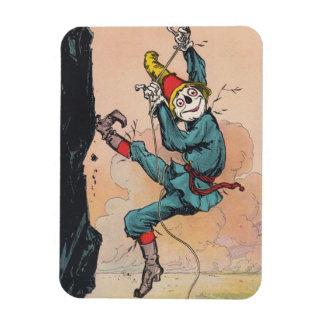 Magnet Antique Scarecrow Rappels Cliff Rock Climb