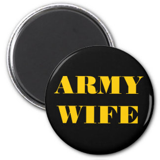 Magnet Army Wife
