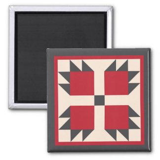 Magnet - Bearcat Quilt Square