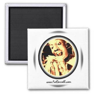 Magnet-Big Bite Logo Square Magnet