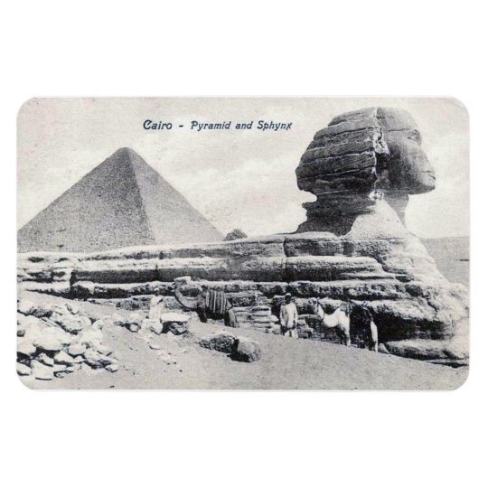 Magnet - Cairo, Pyramid and Sphinx