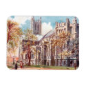 Magnet - Canterbury Cathedral Rectangle Magnet