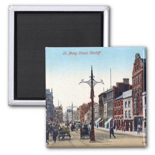 Magnet - Cardiff St Mary Street Magnets