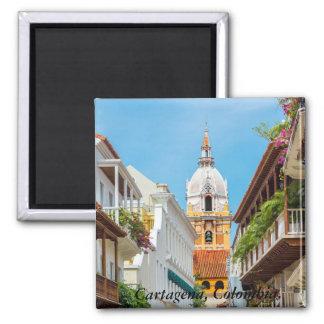 Magnet, Cartagena de Indias, Colombia Square Magnet