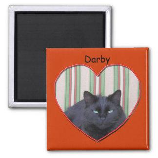 Magnet - Cat in Heart Shaped Frame