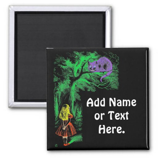 """Magnet: """"Cheshire Cat"""" from """"Alice in Wonderland"""""""