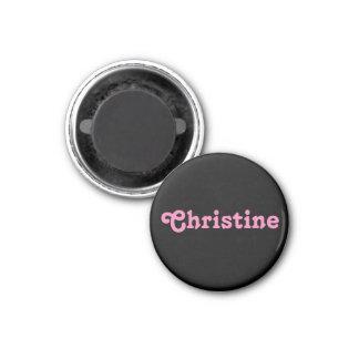 Magnet Christine