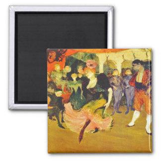 Magnet Dancing the Bolero Toulouse-Lautrec
