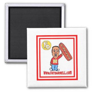 Magnet-FD1 logo Square Magnet