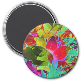Magnet Floral Abstract Artwork