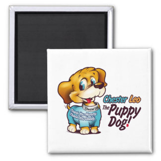 Magnet From Chester Leo: The Puppy Dog!