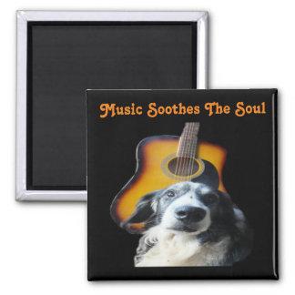 Magnet Guitar Dog