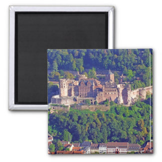 Magnet Heidelberg Castle Aerial View