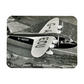 Magnet - Historic Aircraft - Short Scion Senior