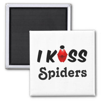 Magnet I Kiss Spiders