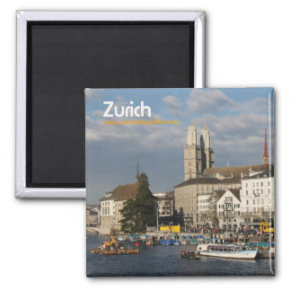 Magnet/Iman Zurich Square Magnet