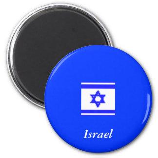 Magnet, Israel 6 Cm Round Magnet