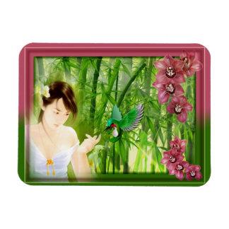 Magnet japonais colibri