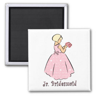 Magnet: Jr Bridesmaid Magnet
