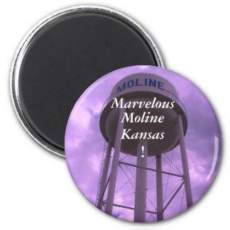 Magnet:  Marvelous, Moline, Kansas ! Magnet