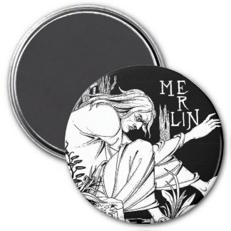 Magnet : Merlin -  by Aubrey Beardsley