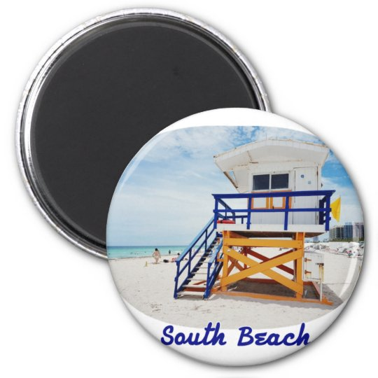 Magnet Miami South Beach Tower Patrol