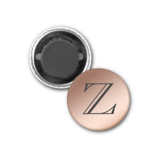 Magnet - Monogram, Copper