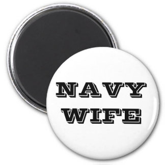Magnet Navy Wife