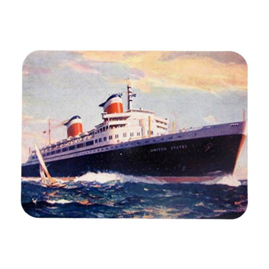 Magnet - Ocean Liners - SS United States