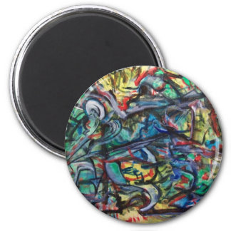 Magnet of ValAries' Abstract Painting