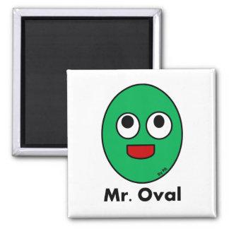 Magnet Oval Mr. By Par3a