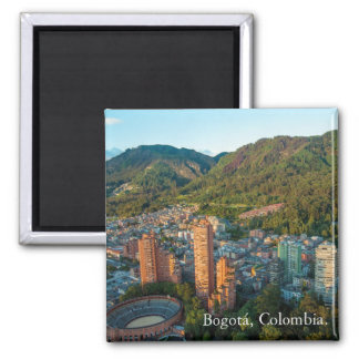 Magnet, panoramic Bogota, Colombia Magnet