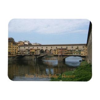 Magnet--Ponte Vecchio Bridge Rectangular Photo Magnet