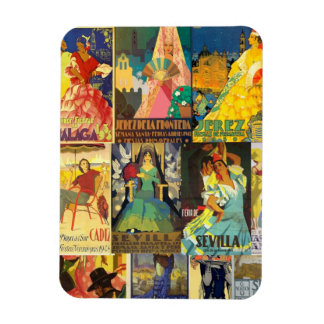 Magnet Refrigerator Posters of Fair and Andalusia
