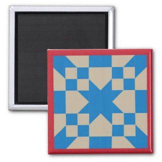 Magnet - Road to Oklahoma Quilt Square