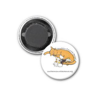 Magnet (Round Kitty Logo)