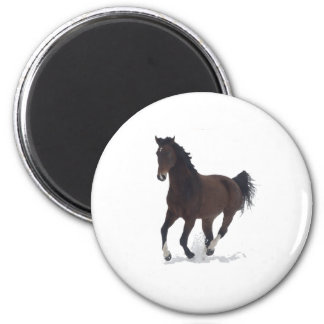 Magnet - running Horse