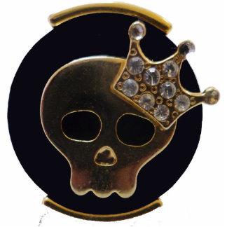 """Magnet """"Skull Queen """" Photo Sculptures"""
