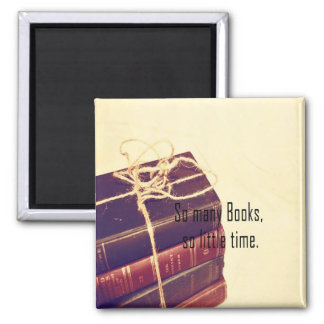 Magnet ..So Many Books