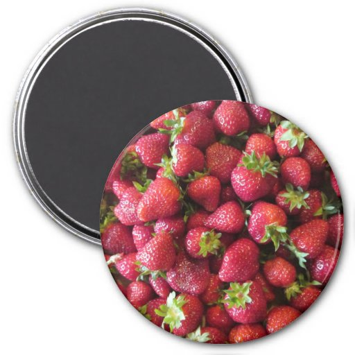 Magnet - Summer Strawberries