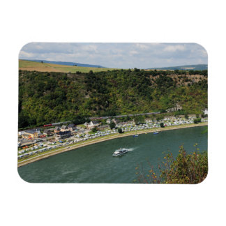 Magnet to the Loreley in the central Rhine Valley