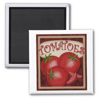 Magnet-Tomatoes Square Magnet