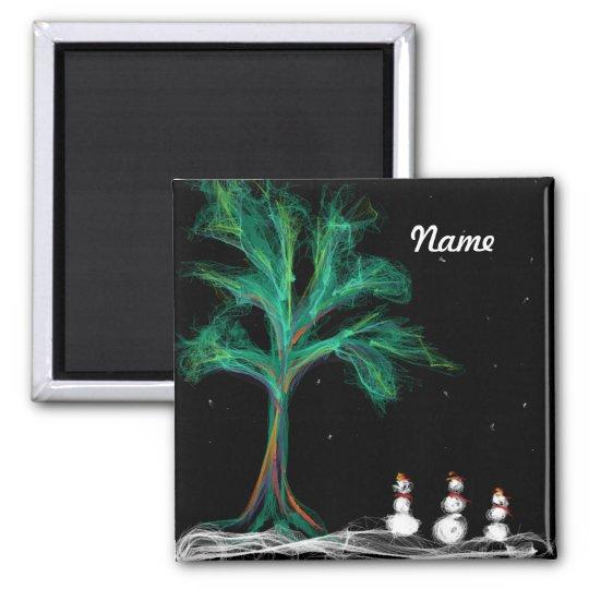 Magnet  Tree + Smowmen