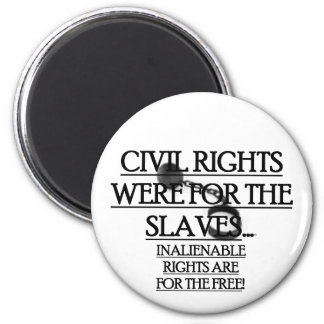 Magnet w/ Civil Rights Were For The Slaves