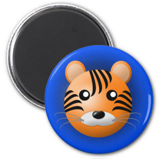 magnet with animal: tiger