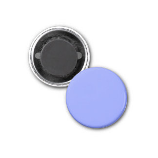 Magnet with Cornflower Blue Background