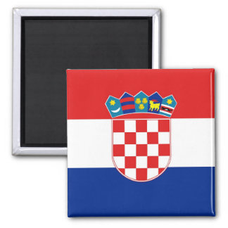 Magnet with Flag of Croatia