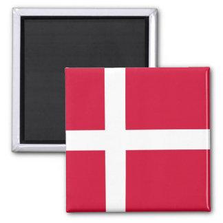 Magnet with Flag of Denmark